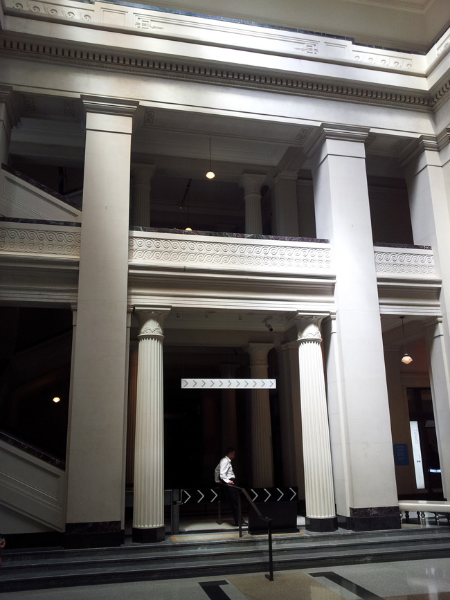 Grand Foyer Auckland Museum : Wake up new zealand what does the globalist agenda