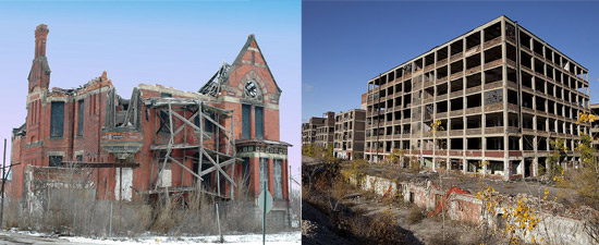Detroit - Western Countries in Ruins