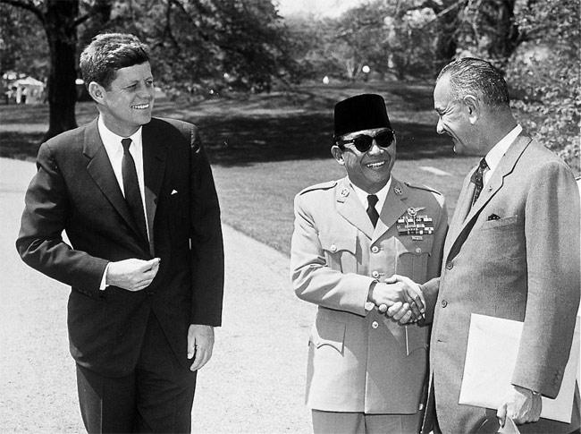 NEIL KEENAN UPDATE   History & Events Timeline JFK_Soekarno_Johnson
