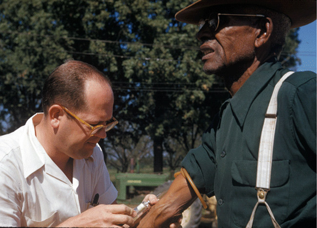 Generations later the effects of the Tuskegee syphilis