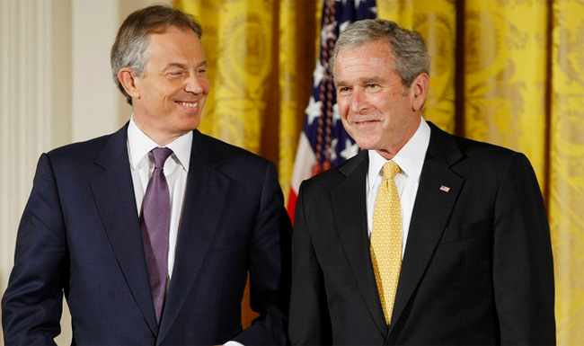 How could the friendship between Bush and Blair have affected the IRA?