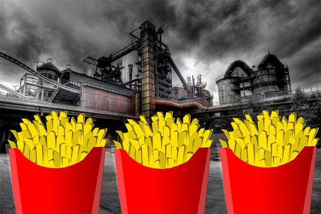 the industrial food complex essay The industrial revolution and its impact on family life these revolutions has had complex and the industrial revolution essay the industrial revolution.
